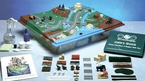EnviroScape model