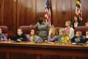 kids in court