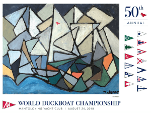 Annual World Duckboat Championship Charity Regatta @ Mantoloking Yacht Club
