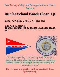 Barnegat Clean Up @ Dunfee School