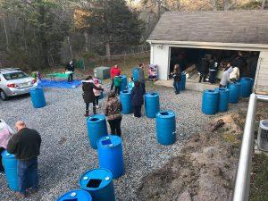 Stafford Rain Barrel Workshop 8/4/2021 @ Ocean Acres Community Center